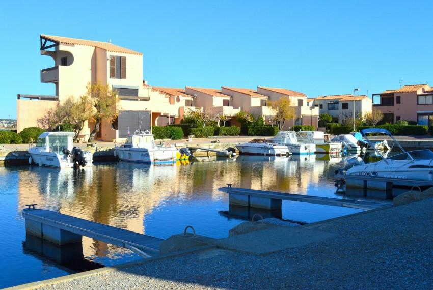 Aphrodite village, appatement 3 pièces vue port